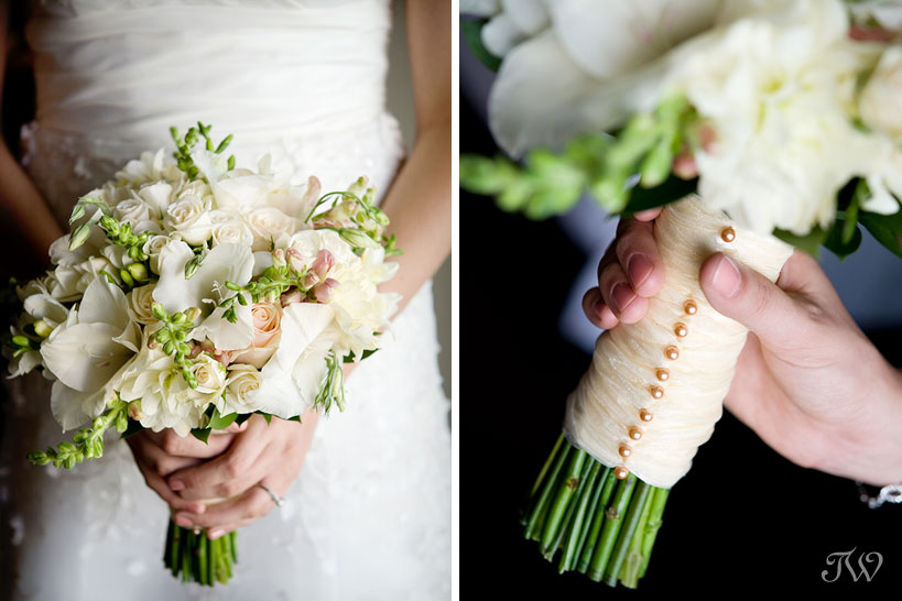 Calgary-wedding-photographer-at-hotel-arts-bridal-bouquet