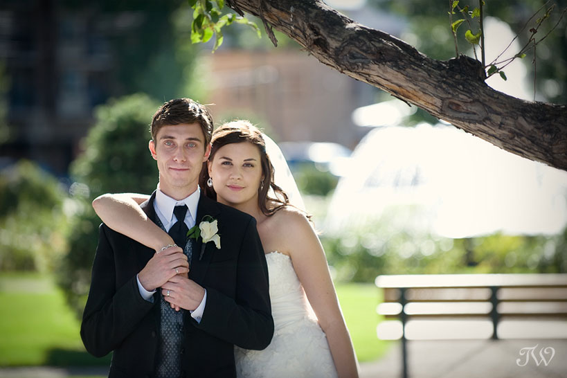Calgary-wedding-photographer-at-hotel-arts-bride-and-groom
