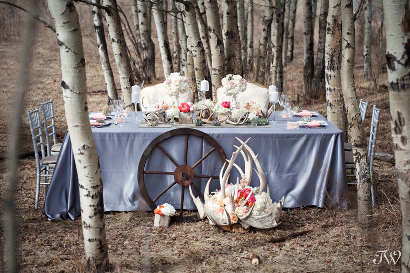 Calgary-wedding-pictures-rustic-tablescape-antlers