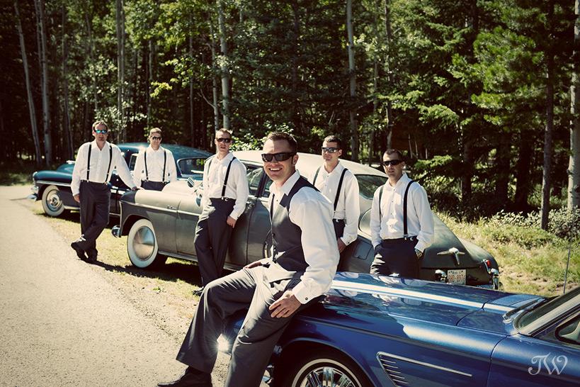Calgary-Bridal-Party-Photo-Favourites-groom-vintage-cars