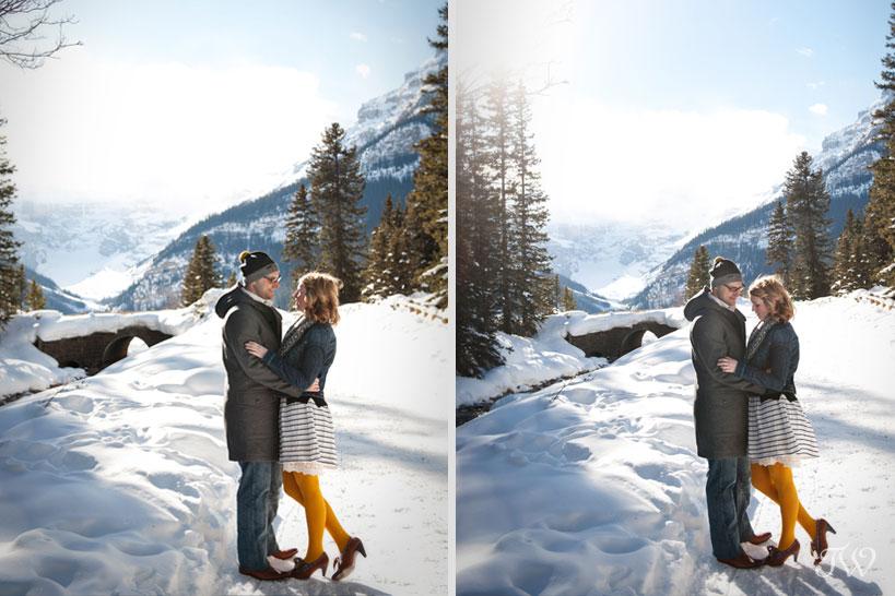 lake-louise-engagement-pictures-hudson-bay-blanket-06