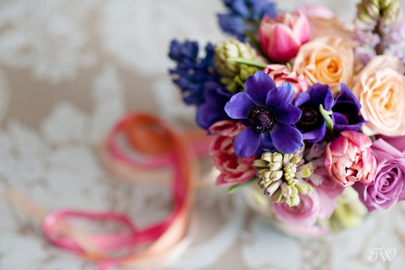 spring wedding bouquet Tara Whittaker Photography