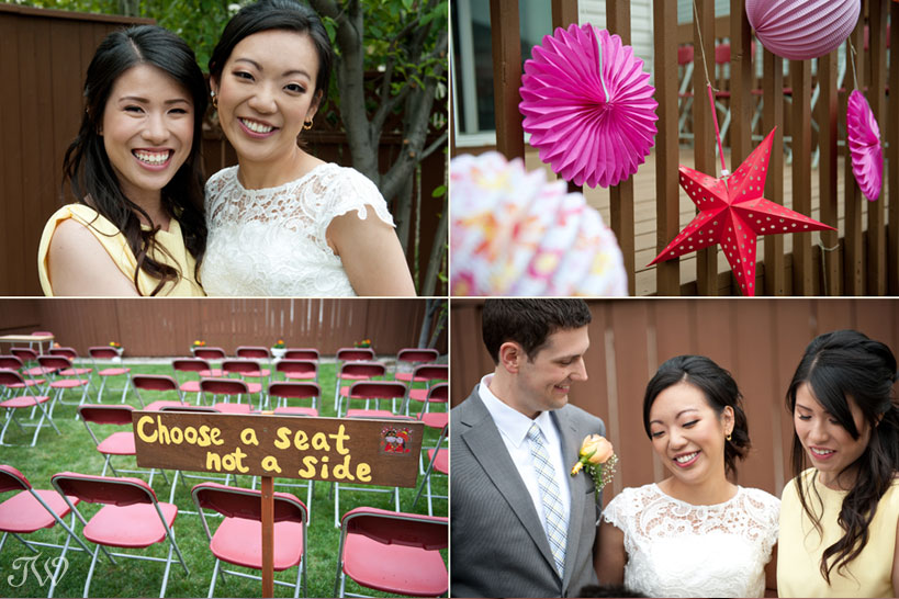 intimate weddings at home captured by Tara Whittaker Photography