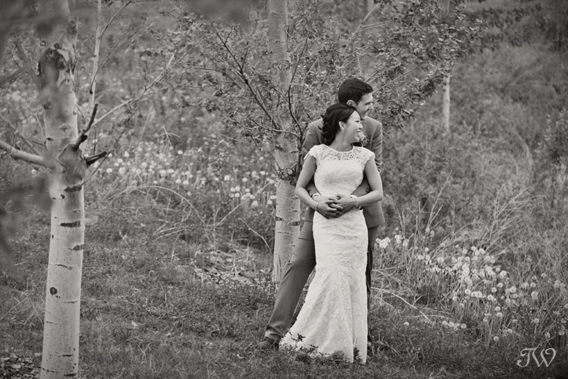bride and groom on their wedding day captured by Tara Whittaker Photography