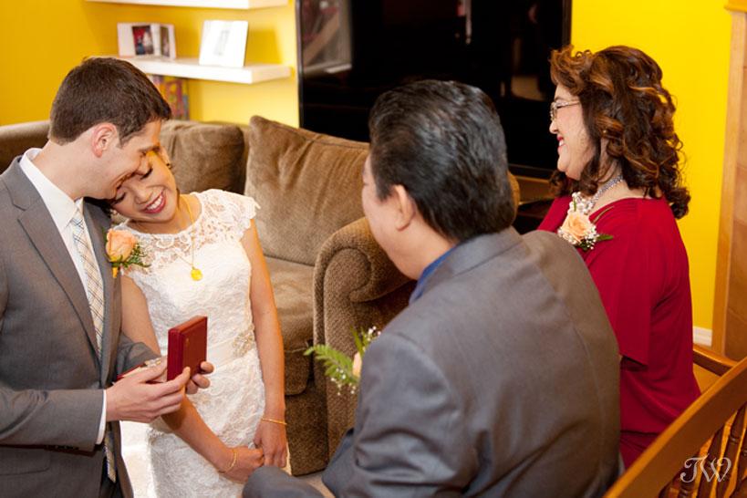 Chinese wedding tea ceremony captured by Tara Whittaker Photography