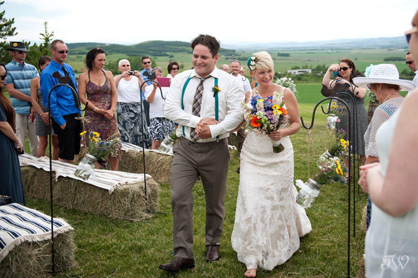 new bride and groom captured by Tara Whittaker Photography