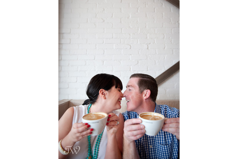 Phil and Sebastian engagement session captured by Tara Whittaker Photography