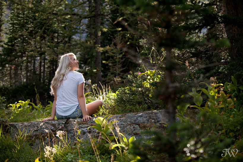 portrait in the Rocky Mountains captured by Tara Whittaker Photography