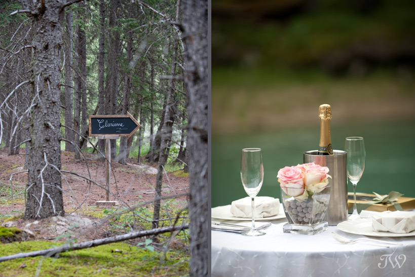 Romantic proposal ideas planned by Naturally Chic Weddings