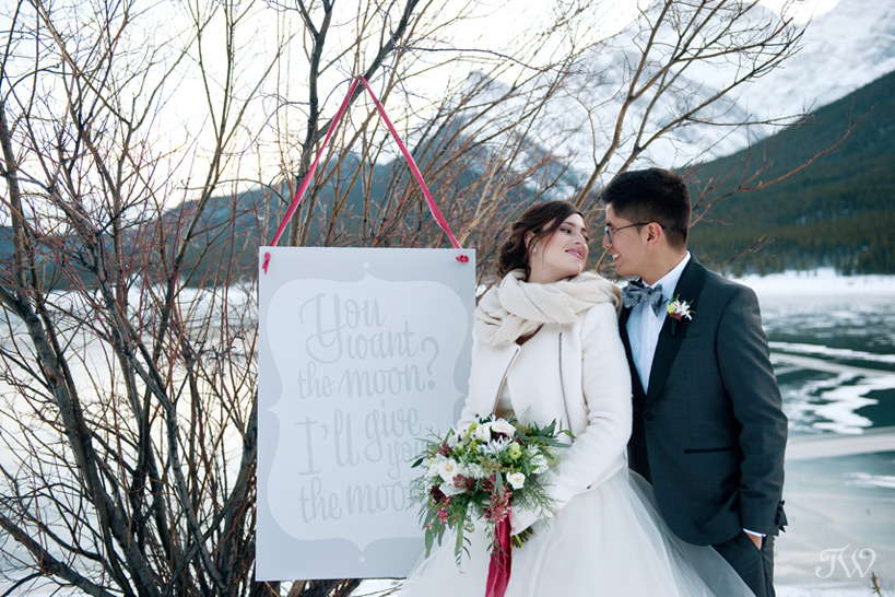 Wedding sign by Stevie & Bean Paperie captured by Tara Whittaker Photography