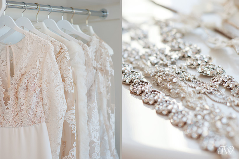 wedding dresses at wedding dress shops in Calgary captured by Tara Whittaker Photography