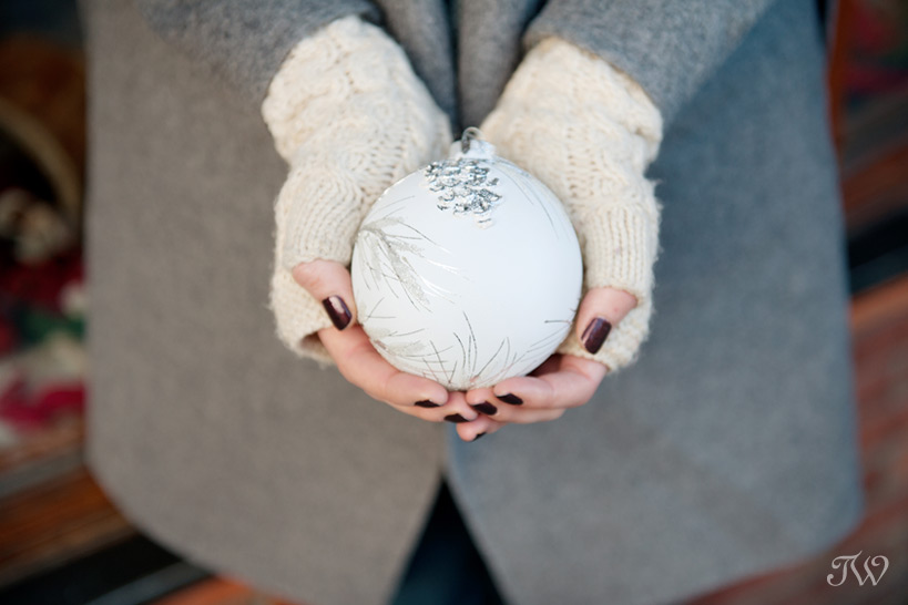 Ornament from The Spirit of Christmas in Banff captured by Tara Whittaker Photography