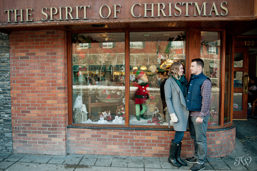 The Spirit of Christmas in Banff captured by Tara Whittaker Photography