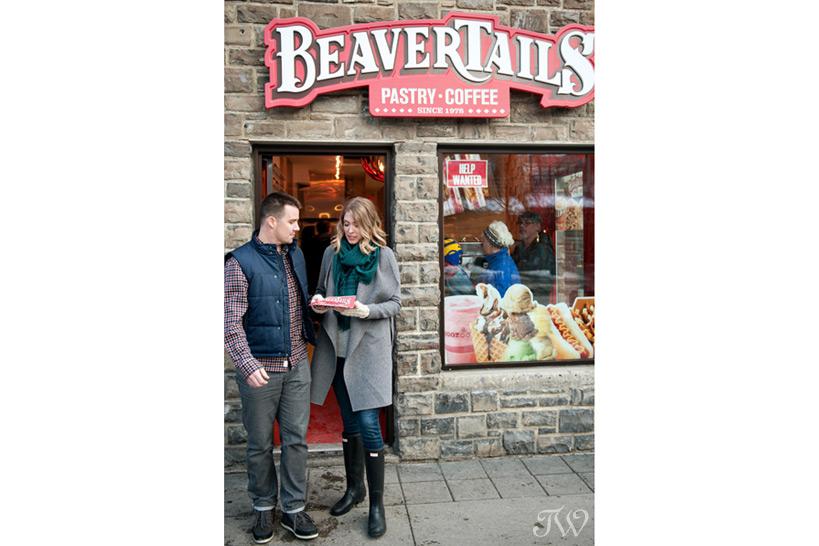 Beavertails in Banff captured by Tara Whittaker Photography