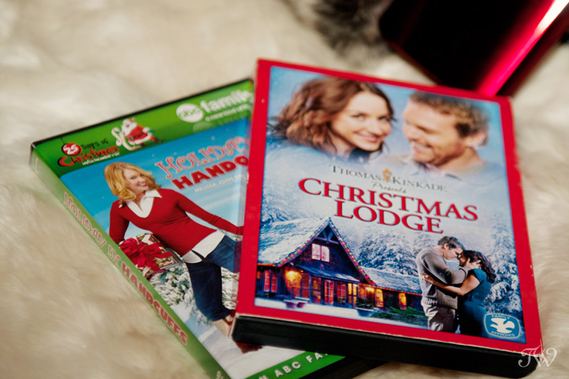 Christmas movies in Banff captured by Tara Whittaker Photography