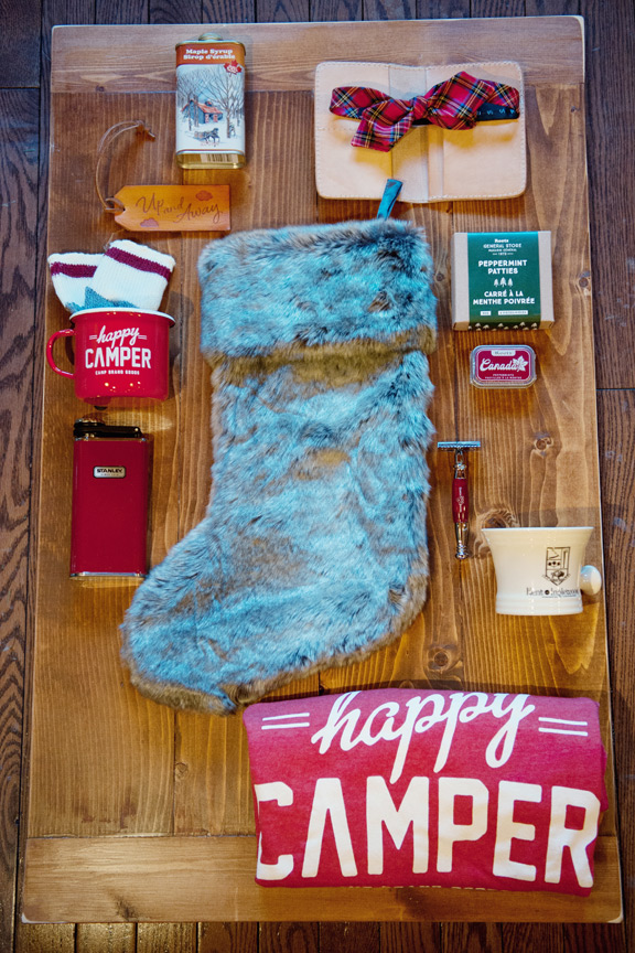 Christmas shopping in Calgary stocking stuffer for men captured by Tara Whittaker Photography