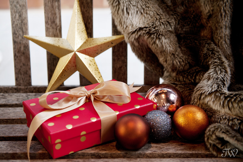 Christmas traditions wrapped gifts captured by Tara Whittaker Photography