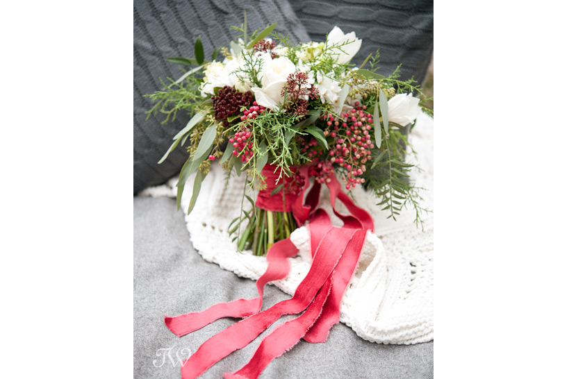 bridal bouquet from Flowers by Janie captured by Tara Whittaker Photography