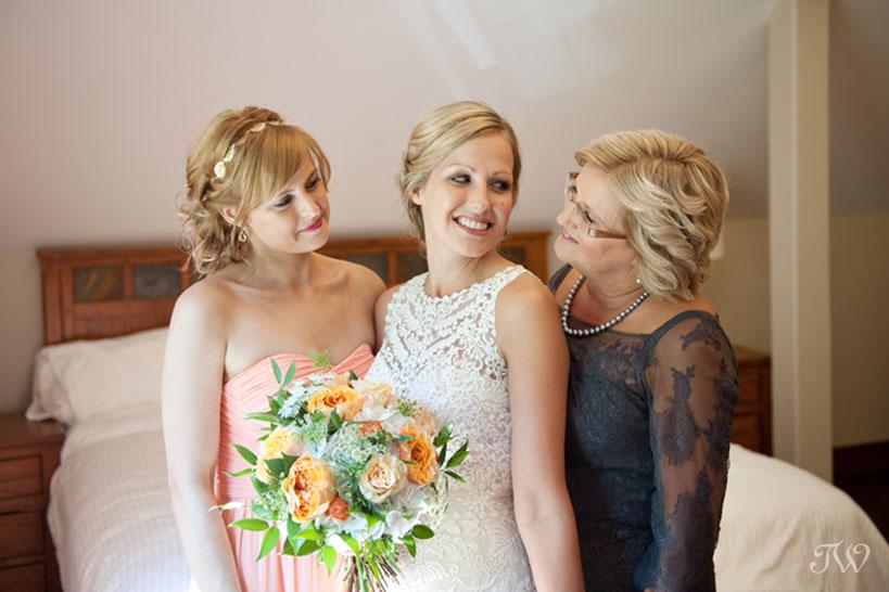 Fernie Bride captured by Tara Whittaker Photography
