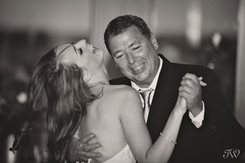 Father daughter dance at Blue Devil Golf Club captured by Tara Whittaker Photography