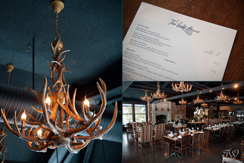 Rustic chandeliers at The Lake House captured by Tara Whittaker Photography