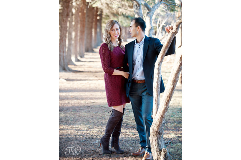 spring engagement session captured by Tara Whittaker Photography