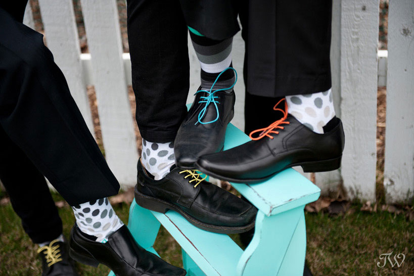 fun details for groomsmen captured by Tara Whittaker Photography
