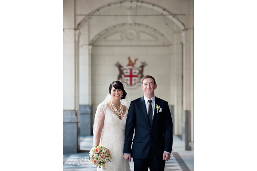 bride and groom offer their wedding advise captured by Tara Whittaker Photography
