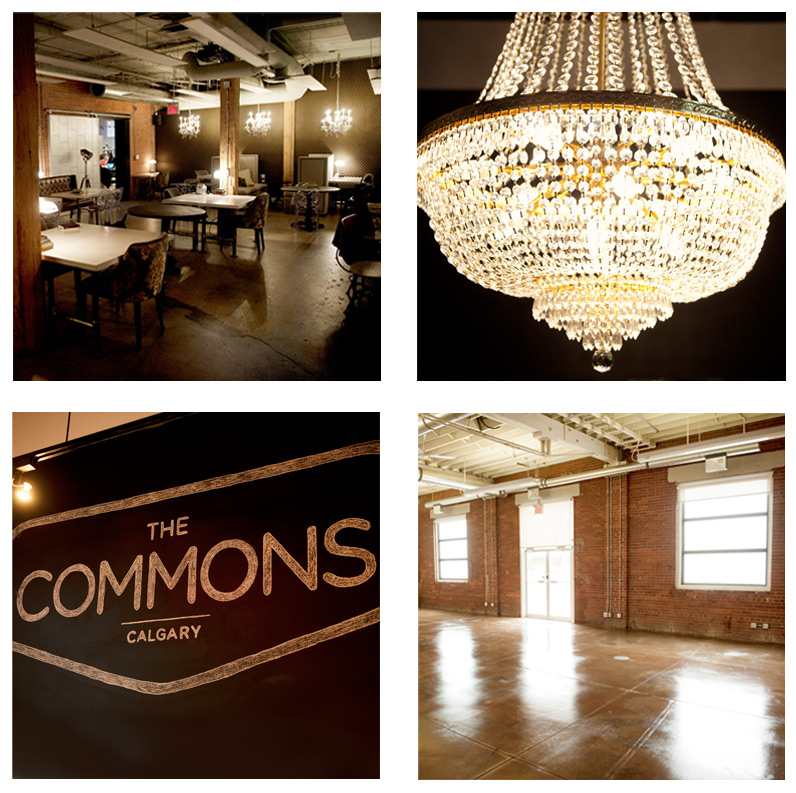 The Commons Industrial wedding venue in Calgary captured by Tara Whittaker Photography
