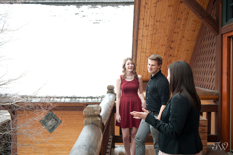 couple planning their Buffalo Mountain Lodge wedding captured by Tara Whittaker Photography