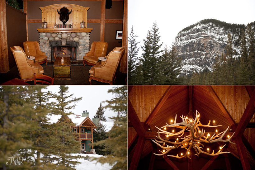 Buffalo Mountain Lodge captured by Banff wedding photographer Tara Whittaker