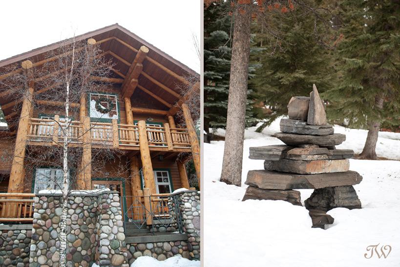 winter scenes at Buffalo Mountain Lodge captured by Banff Wedding Photographer Tara Whittaker