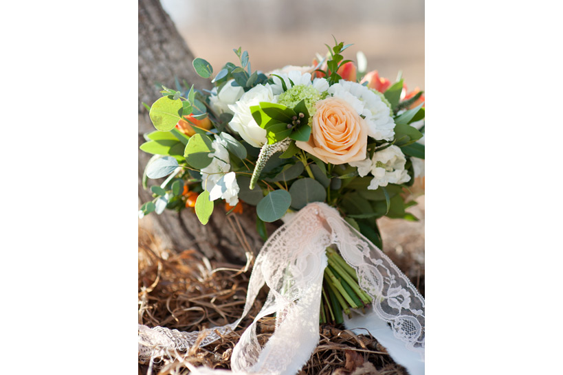 bouquet for a spring bride captured by Calgary wedding photographer Tara Whittaker