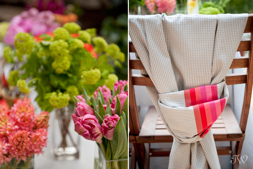 Colourful florals from Flowers by Janie captured by Tara Whittaker Photography