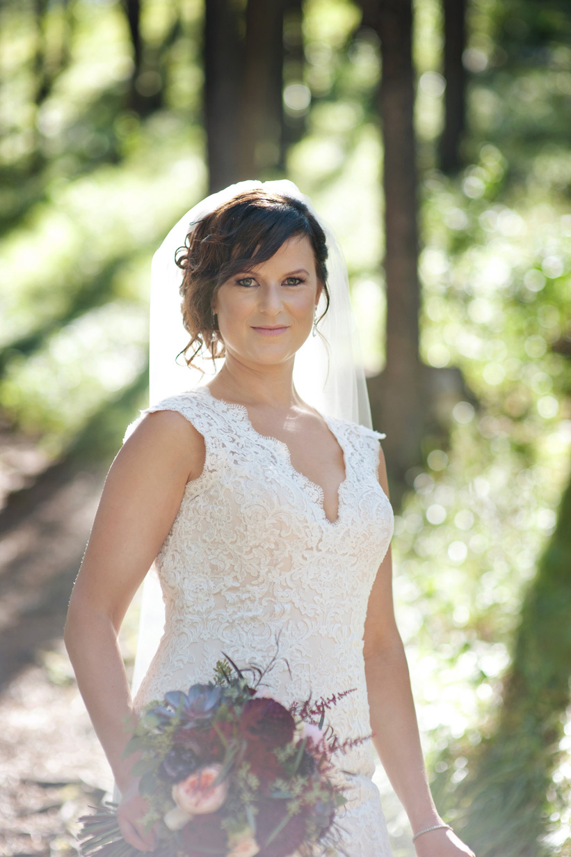 Canmore bride captured by Tara Whittaker Photography