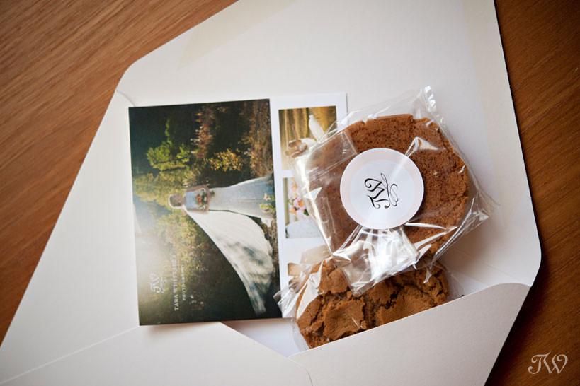 wedding consultation packet for Calgary wedding photographer Tara Whittaker