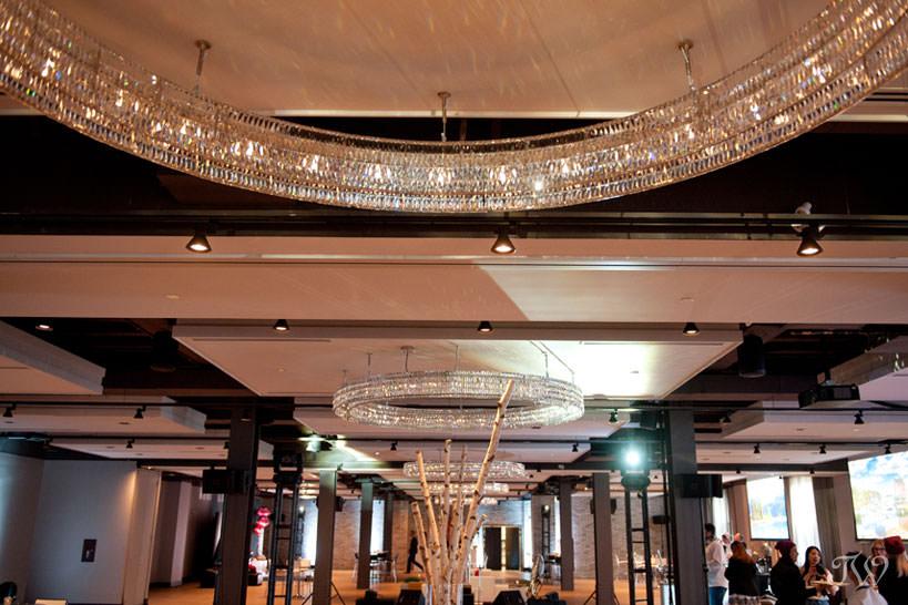 Inside Hudson, a Calgary wedding venue, captured by Tara Whittaker Photography