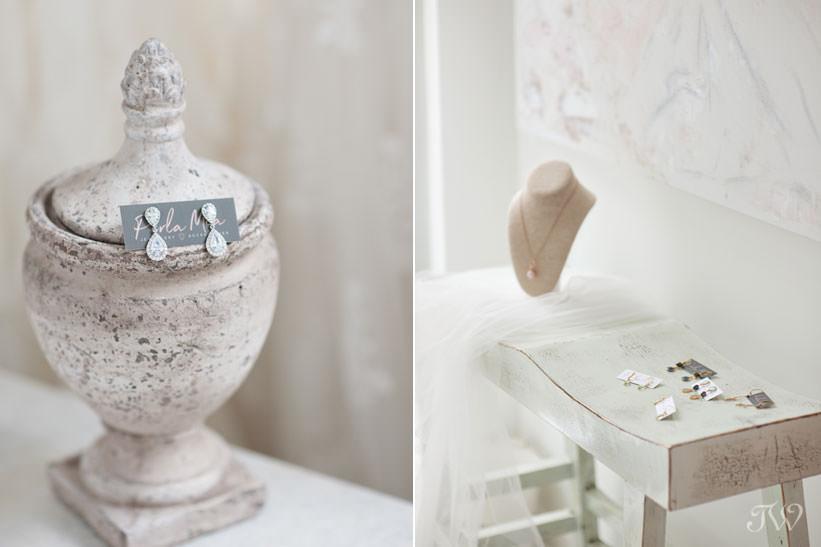 Bespoke jewellery from Perla Mia captured by Tara Whittaker Photography