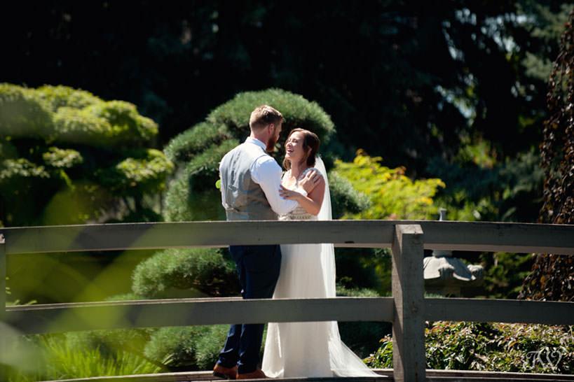 First look at Kasugai Gardens kelowna wedding photos captured by Tara Whittaker Photography
