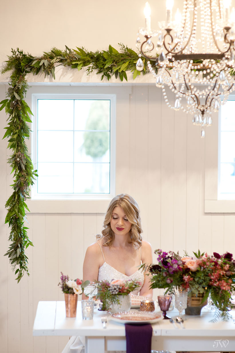 winter bride captured by Calgary wedding photographer Tara Whittaker