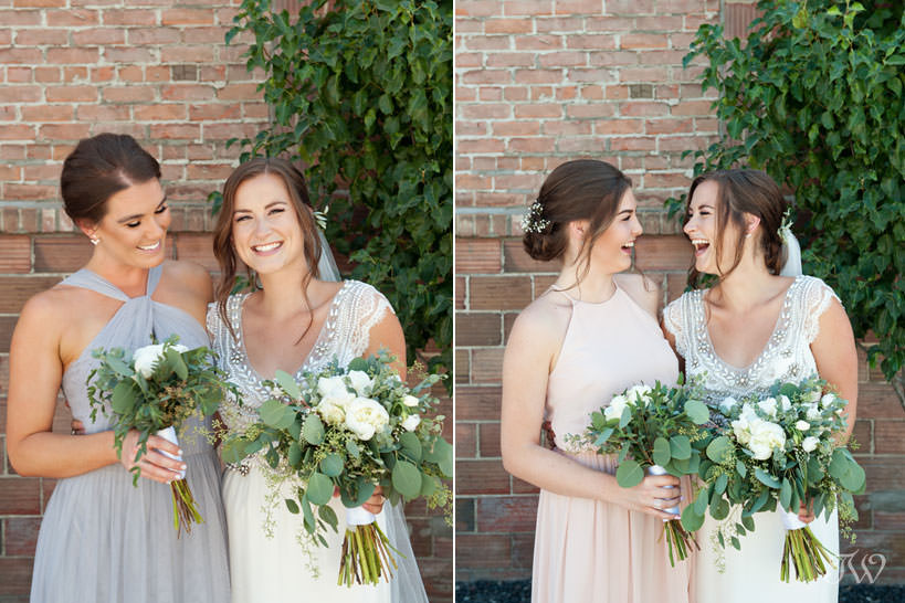 bridal party during Kelowna wedding photos captured by Tara Whittaker Photography