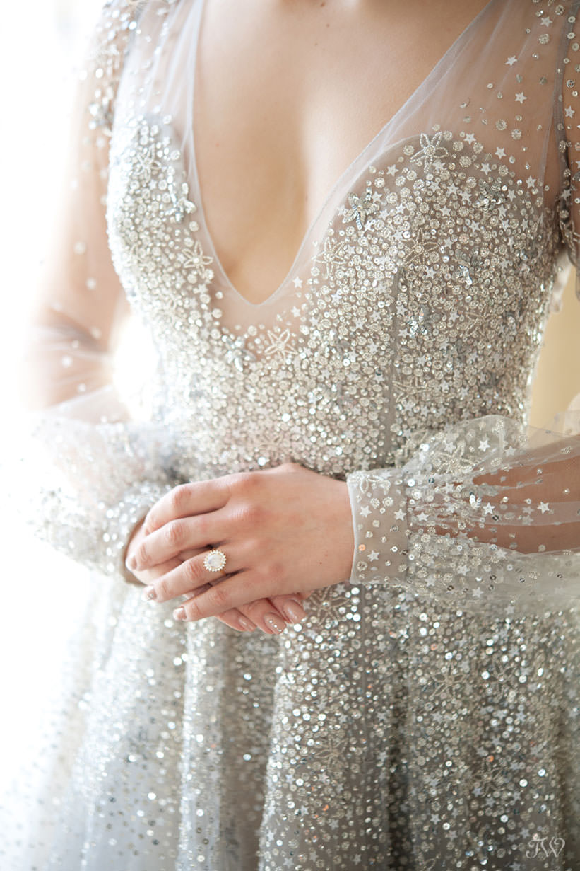 Leah Alexandra ring from Adorn Boutique captured by Calgary wedding photographer Tara Whittaker